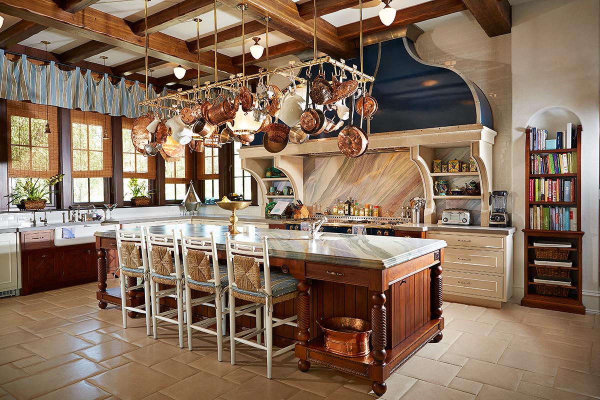 Luxury Home Kitchen interior